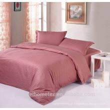 Maravilhoso tecido jacquard de poliéster para folha de cama com boa qualidade à venda
