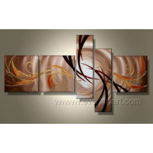 Handmade Modern Art Abstract Oil Painting on Canvas (XD5-049)