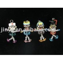 fashion crystal polymer clay bead toy