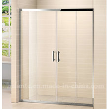 Hot Selling Stainless Steel Frame Tempered Glass Shower Screen (LTS-032)