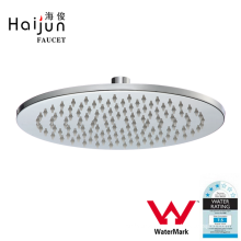 Haijun 2017 China Shopping Luxury Watermaker Saving Round Shower Head