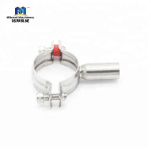 Venta caliente a estrenar Durable fácil de usar acero inoxidable titular de tubo sanitario en venta