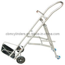20L~80L Gas Cylinder Trolley (Stainless Steel Made)