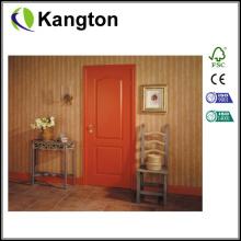 Porta moldada HDF interior econômica (porta moldada HDF)