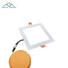 Fabrikpreis 4x4 energiesparende schlanke quadratische LED-Platte 9w 15w