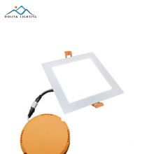 factory price 4x4 energy saving slim square led panel 9w 15w