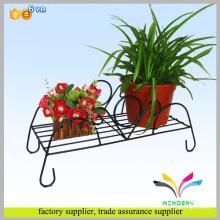 China-Warengroßverkaufausstellungs-Ausstellungsständer innovativer fancy heißer Verkauf neuer Blumen-Anlagenmetall-Eisen-Topfhalter