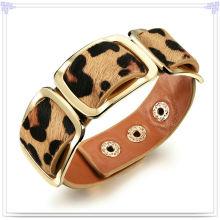 Bijoux en acier inoxydable Bijoux en cuir Bracelet en cuir (LB288)