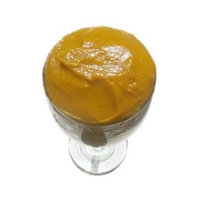 100% natural peach puree concentrate,220kg/drum brix 30-32%