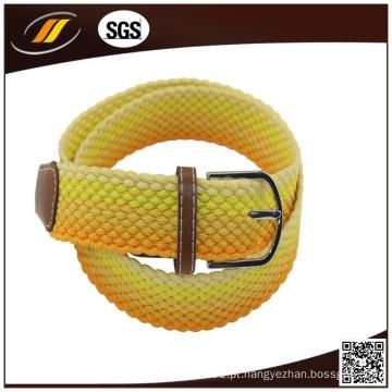 Correia tecida trançada da corda elástica nova da forma
