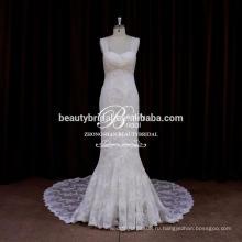 Горячая Распродажа элегантный Кот Русалка bling свадебные платья кружева современные украшения свадебное платье