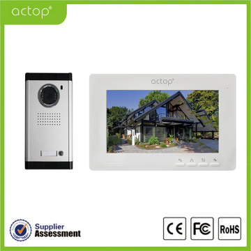 7 inch Video Doorphone Intercom Bel