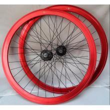 700 C Juegos de ruedas hechas a mano con cojinetes