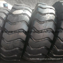 Container Handling Tire 21.00-25, Port Working Tire 2100-25 E-3/L3 Mine with Heavy Loading, Industral OTR Tire