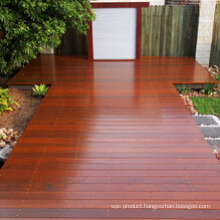 Solid Wood Merbau Decking Outdoor Flooring