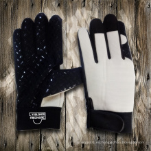 Guante de silicona con punta de palma Guante de mano con guante industrial Guante de levantamiento de guantes con guantes