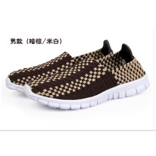 Men′s Leisure Sports Hand Woven Loafer (shoes)