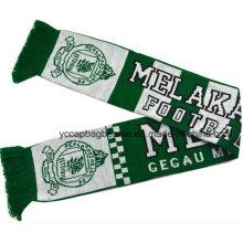 100% акриловый футбол болельщиков шарф