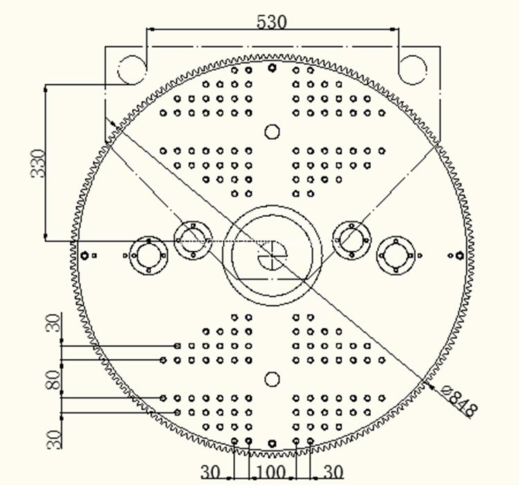 Plate 550-2R