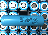flashlight call battery 18650 Battery Samsung 32E