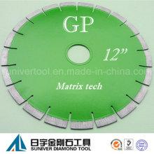 """GP 12 """"* 15 mm hoja de buena calidad y moderno diseño hoja de diamante para granito"""