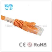 Ce / Certificado de RoHS UTP Cat5e Patchcord 3m