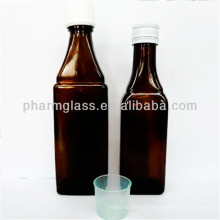Square Shape Reed Diffuser Bottle with Stopper