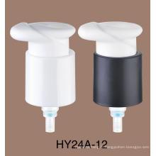 Pompe de lotion de crème de bouteille d'airless d'émulsion de cosmétiques de diamètre intérieur de 24mm