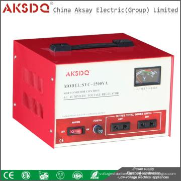 Hot SVC monofásico de alta precisão servo motor estabilizador de tensão CA para refrigerador fabricado na China