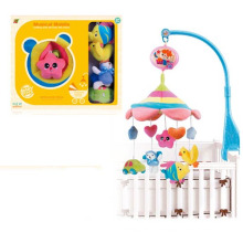 2015 más nuevos B / O Baby Bed Prodcuts Peluche cama juguetes con música y luz (10220296)