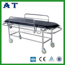 Medizinische Edelstahl Erste-Hilfe-medizinische Patienten-Behandlung Bett