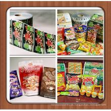 Anpassen Druck Laminierte Snack Food Plastik Verpackung Taschen