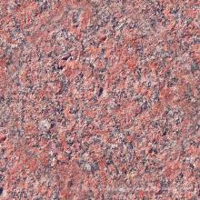 Azulejos de granito rojo de superficie Lychee