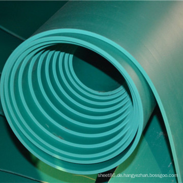 Favtory Preis Green Insulated Rubber Sheet mit 4mm Dicke