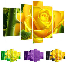Diseño realista moderno de la flor impresiones en lienzo