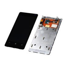 Мобильный телефон на весь экран для Nokia Lumia 800 с сенсорным дигитайзером