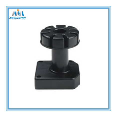 Adjustable kaki kabinet plastik hitam