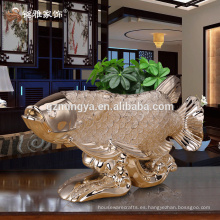 Hotel de negocios de decoración de resina arte artesanal regalo personalizado resina animal estatua