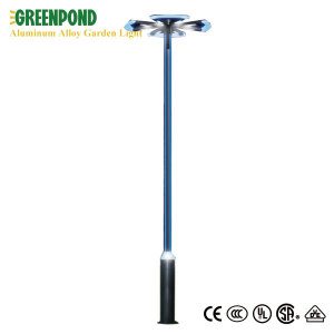 Flowery Blades Shaped Aluminum Alloy Garden Lamp