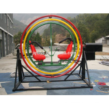 JQA1018 Kid's large outdoor gymnastics roll playground iron amusement park equipment