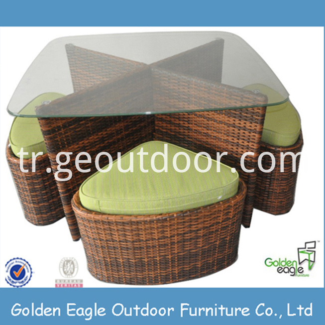 Outdoor Bistro Chair and Table set
