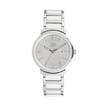 2017 Badatong горячая распродажа Кварцевые нержавеющей стали и керамические часы дамы OEM
