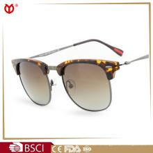 Поляризованные клубные солнцезащитные очки с медной оправой