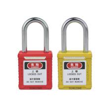 Candado de seguridad del sistema de llave estándar de grillete de acero de 38 mm (BD-G01)