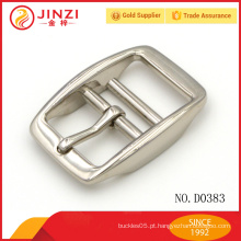 Hardware fornecimentos liga de zinco fivela de cinto de metal personalizado