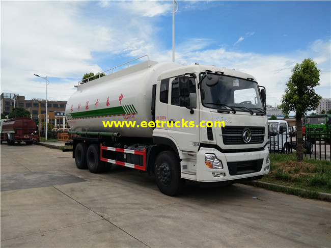 Dongfeng 27500 Litres Dry Powder Tanker Trucks