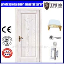 Porte en bois de PVC de placage de PVC d'images durables de conception de puits