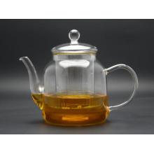 High Borosilicate Glass Tea Pot (GT007) , Simple Style Heat-Resisting Glass Tea Pot