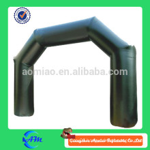 Beautiful black color inflatable advertising arch, cheap inflatable arch, inflatable arches