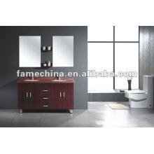Gabinete de banheiro com bacia dupla e espelho (FM-2209)